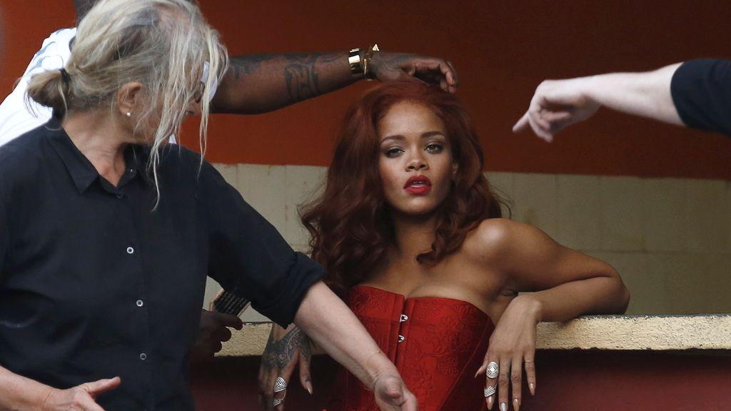 Rihanna provoca euforia en Cuba