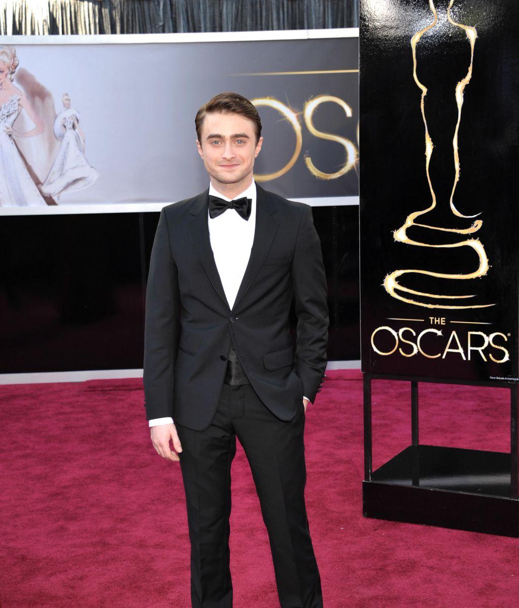 Daniel Radcliffe, sobre la alfombra