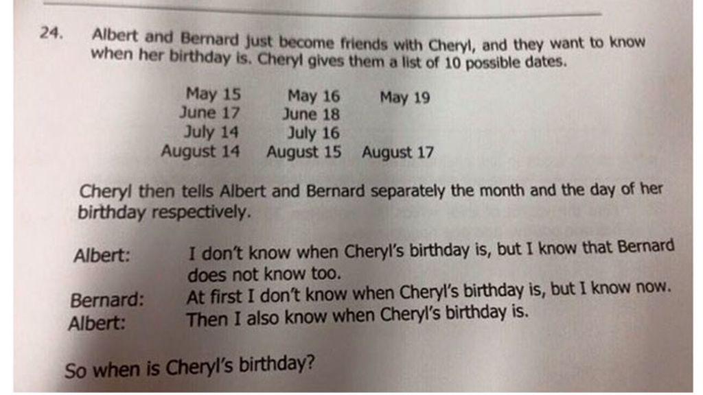 test de lógica,Singapur,test niños de 10 años,test lógica viral