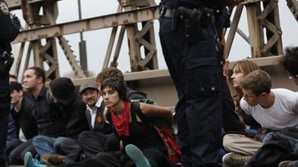 700 detenidos en Nueva York