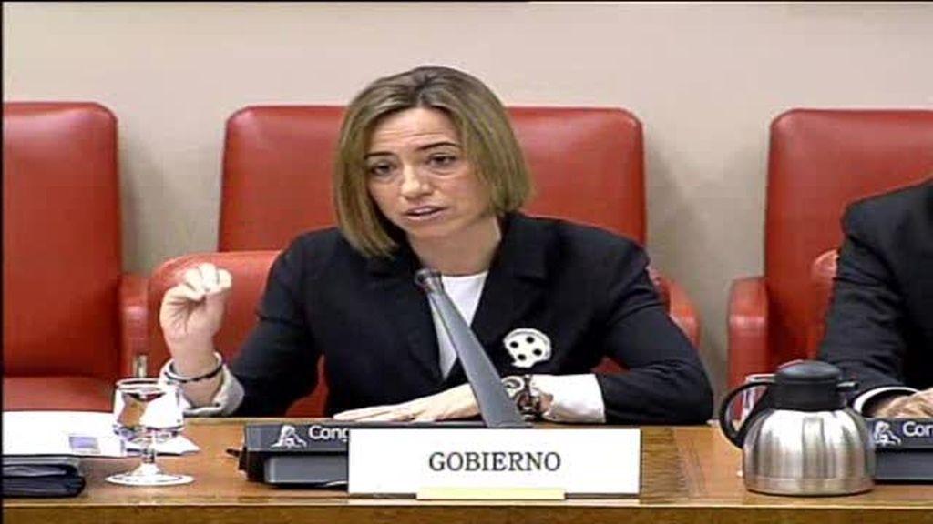 Chacón pide prorrogar la misión en Libia