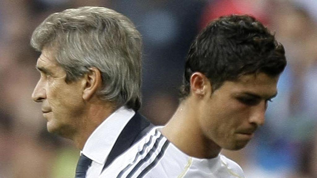 Cristiano Ronaldo, molesto por el cambio
