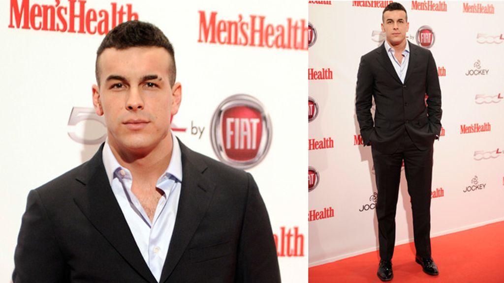 Mario Casas recibió el premio Men's Health al mejor actor