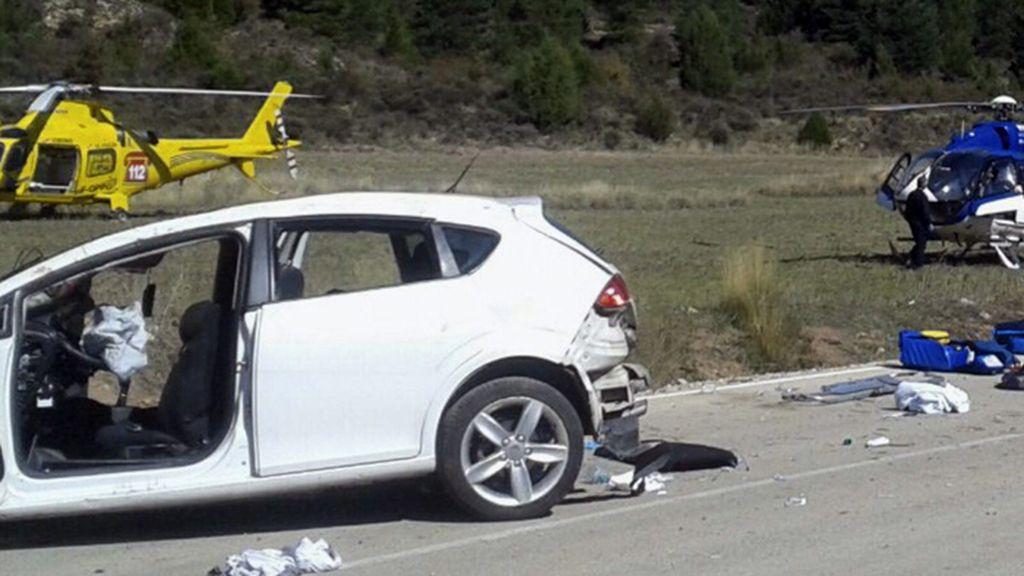 Accidente de tráfico en Salvacañete, Cuenca
