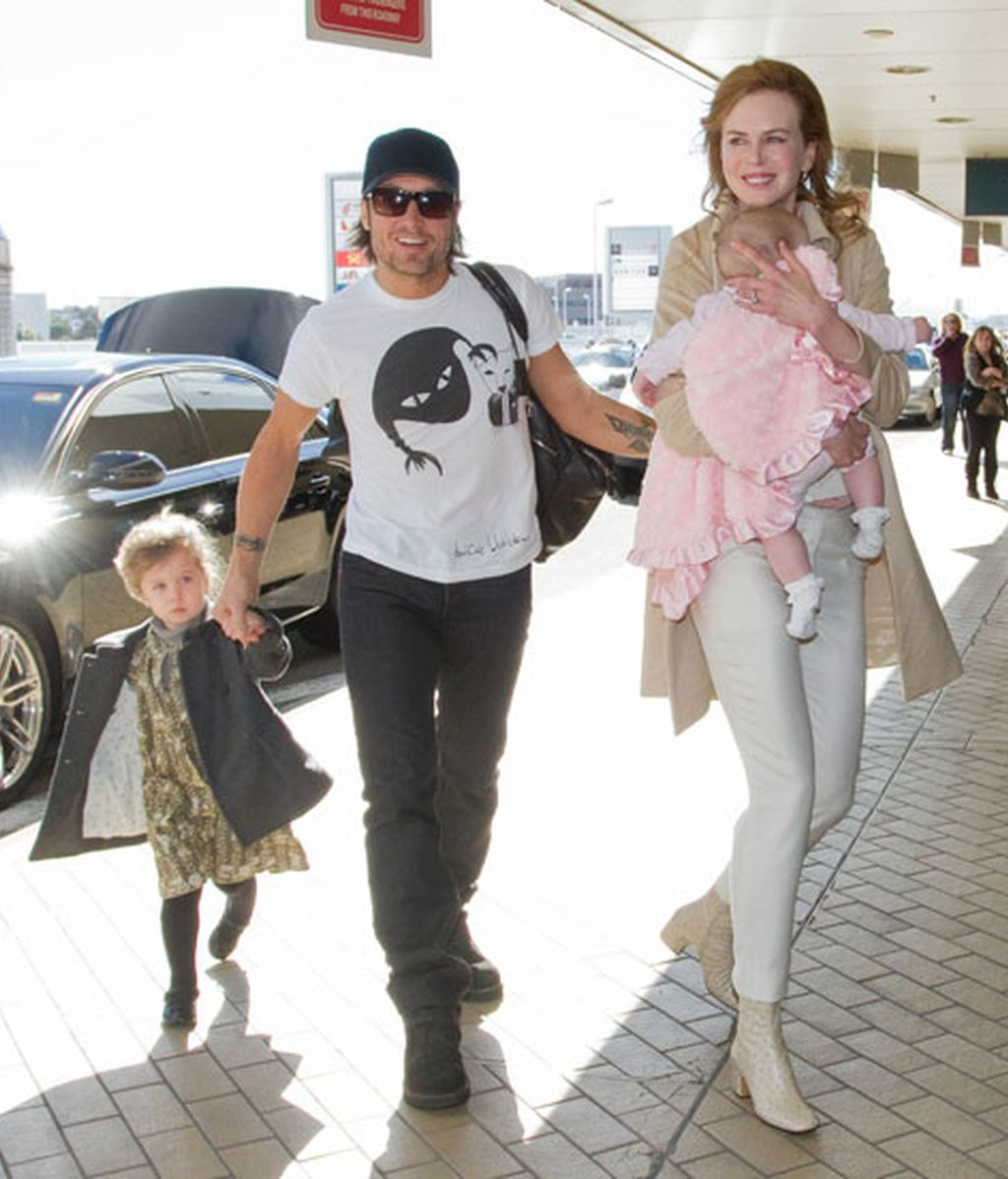 Faith Urban Kidman cumple seis meses en Sidney