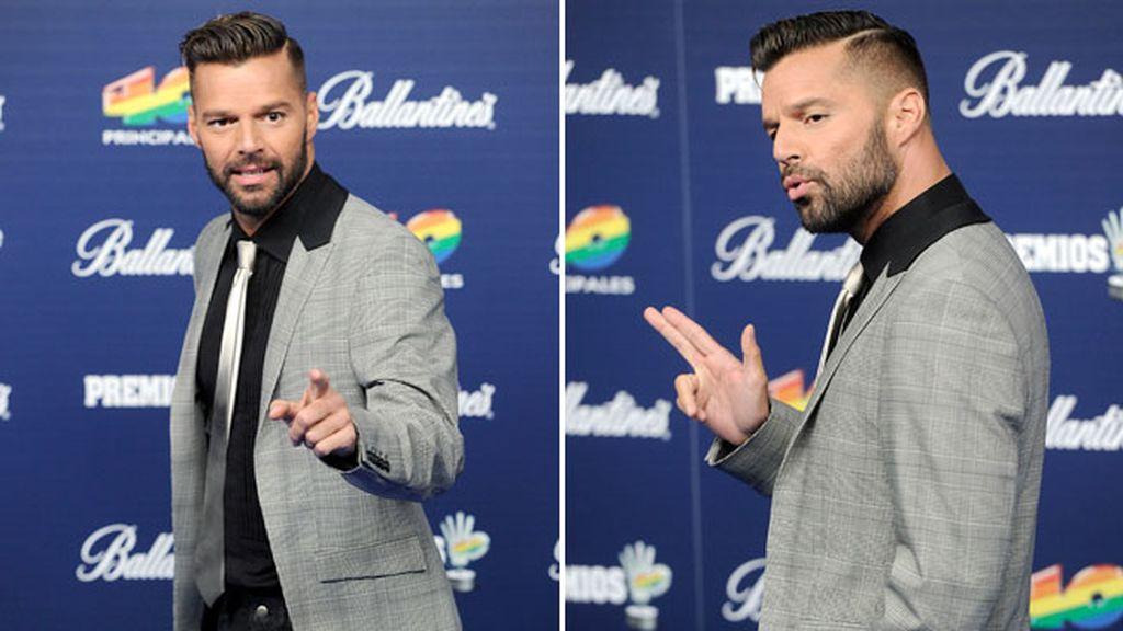 Ricky Martin es otro que se apunta a la nueva tendencia de los Vip