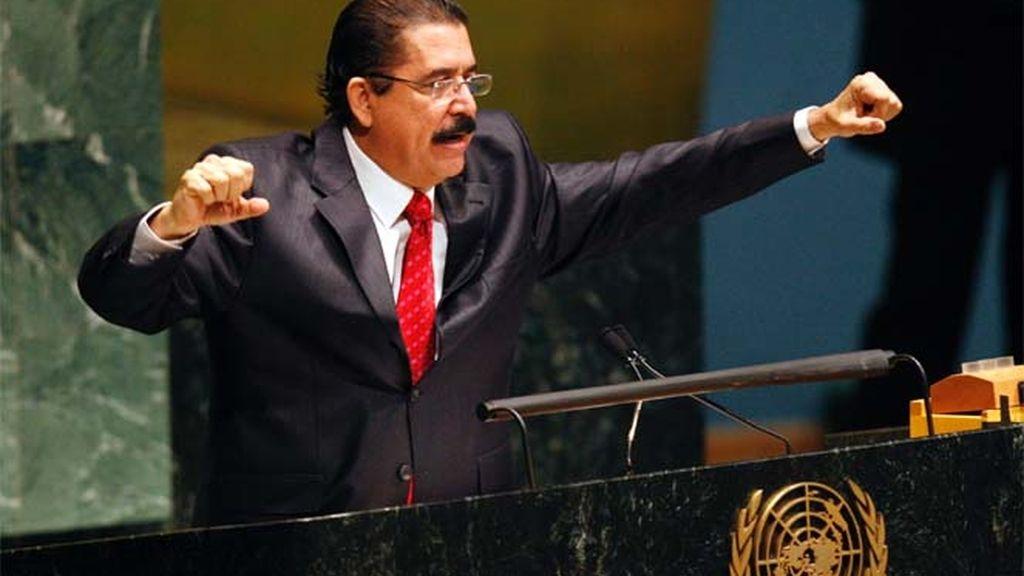 Zelaya en la ONU
