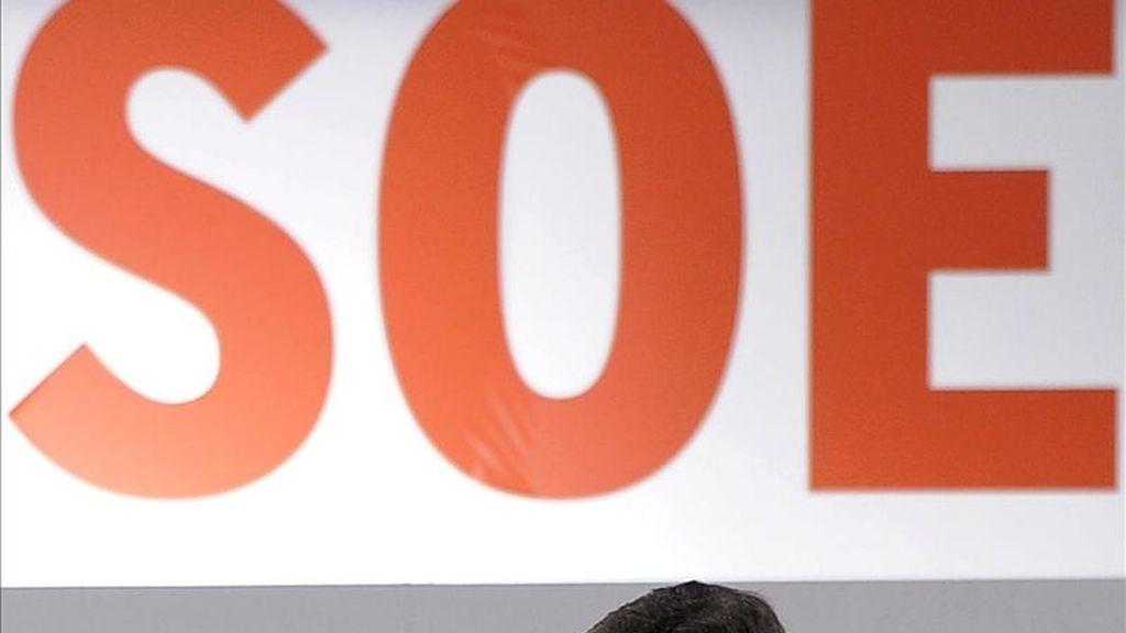 El secretario de Organización del PSOE, Marcelino Iglesias, durante su intervención en el II Foro federal para impulsar las políticas de bienestar social que el partido ha celebrado hoy en Valladolid. EFE