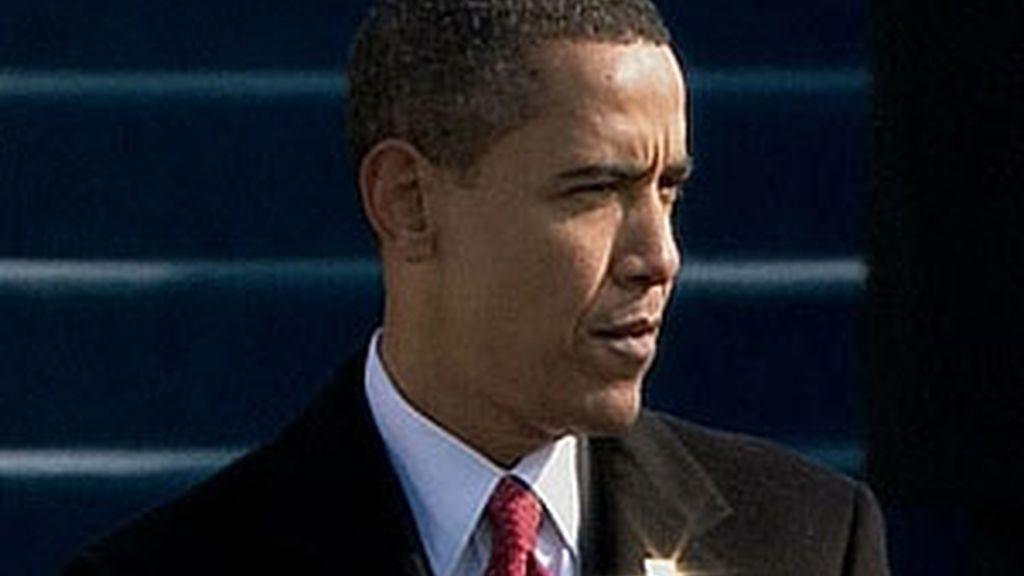 Obama se dirige al pueblo estadounidense tras su investidura. Vídeo: ATLAS.