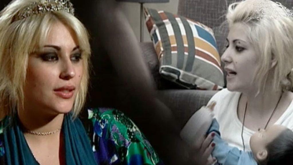 Gemma cambia bebé por ropa
