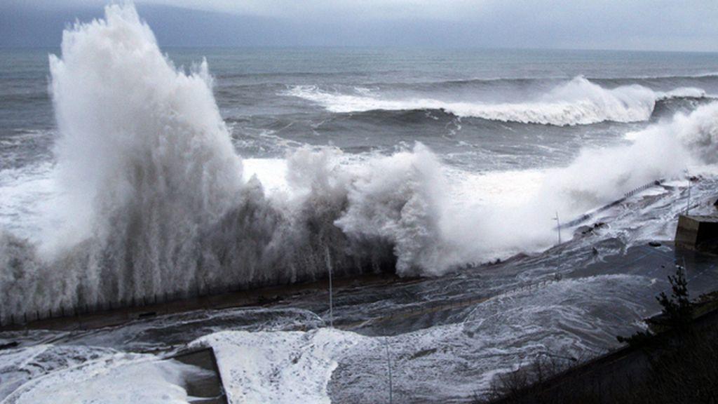 Destrozos por el temporal en el norte