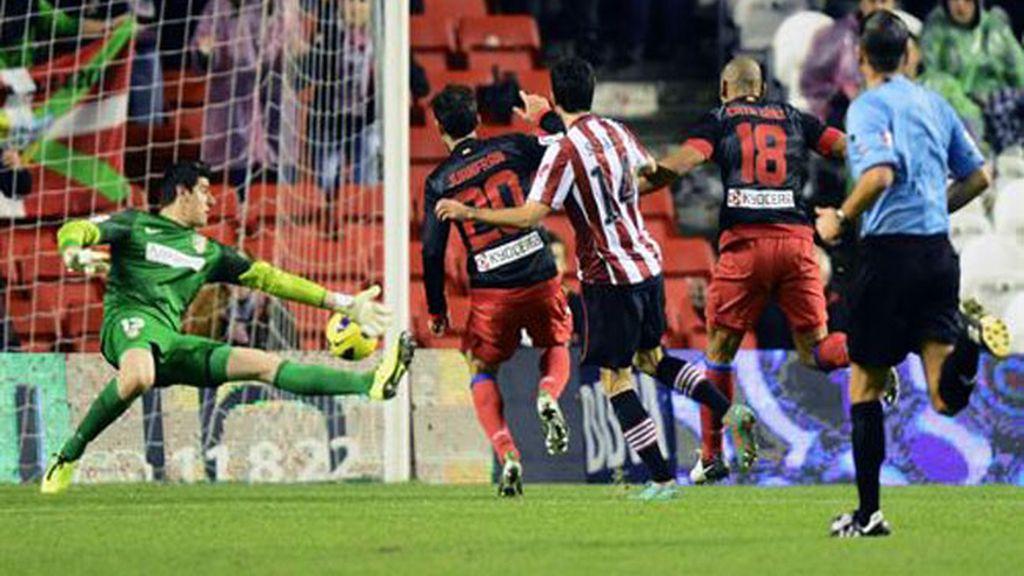 El Athletic se reencuentra ante un inofensivo Atlético