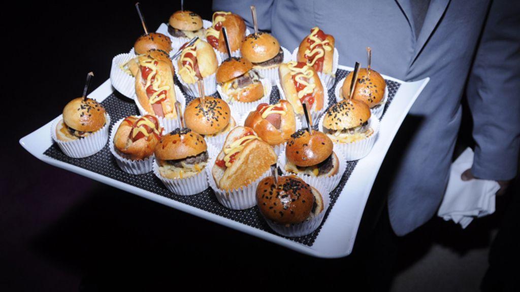 El catering, como en todas las fiestas de Yodona, fue muy abundante y variado