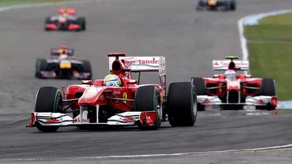 Ferrari da un paso adelante en Alemania