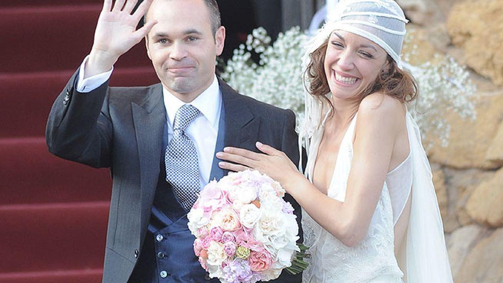 Iniesta y Anna Ortiz ya son marido y mujer