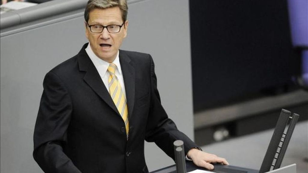 El ministro de Asuntos Exteriores de Alemania, Guido Westerwelle (EFE)