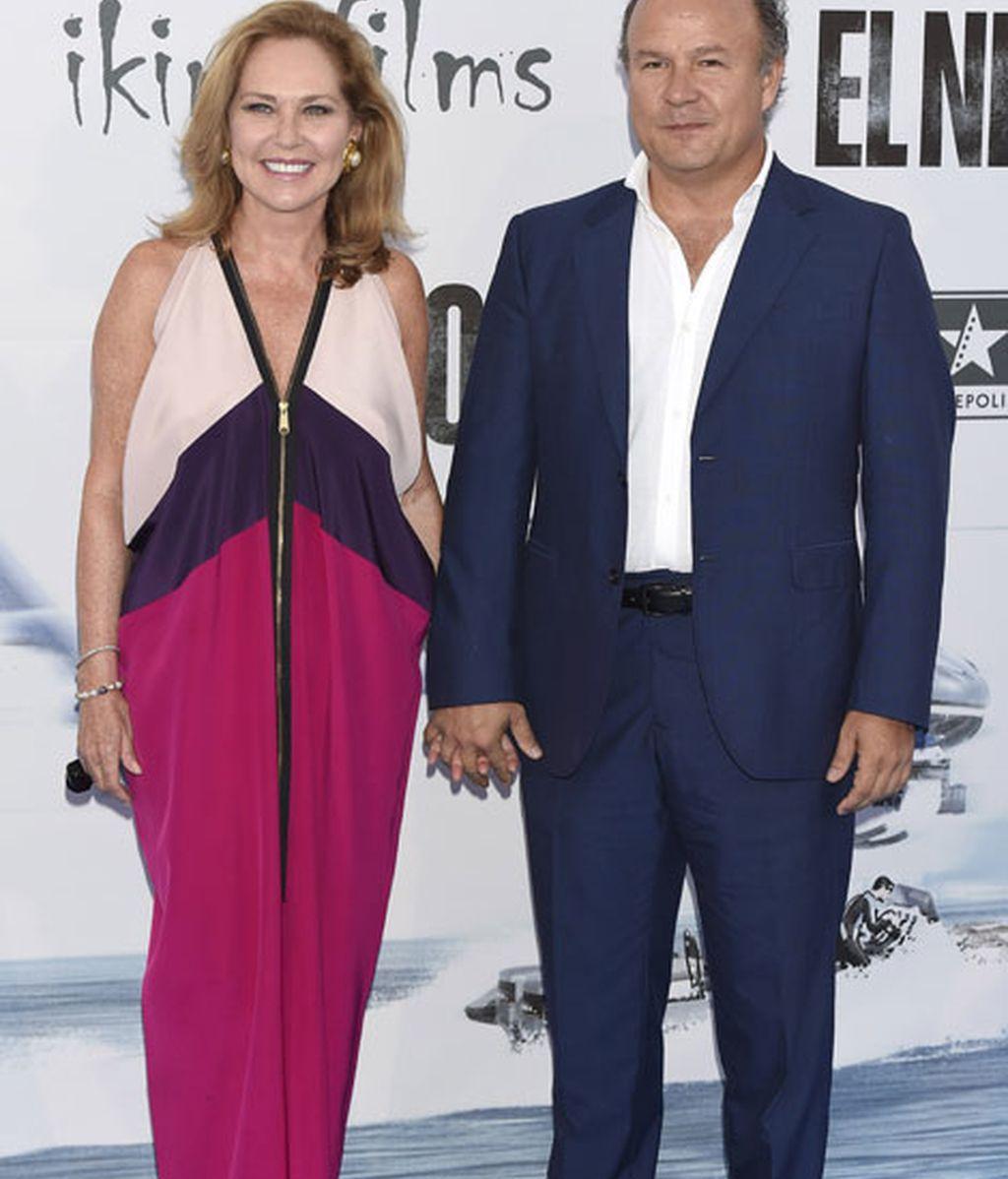 Ana Rodríguez y Ernesto Manrique también estuvieron en los cines Kinépolis