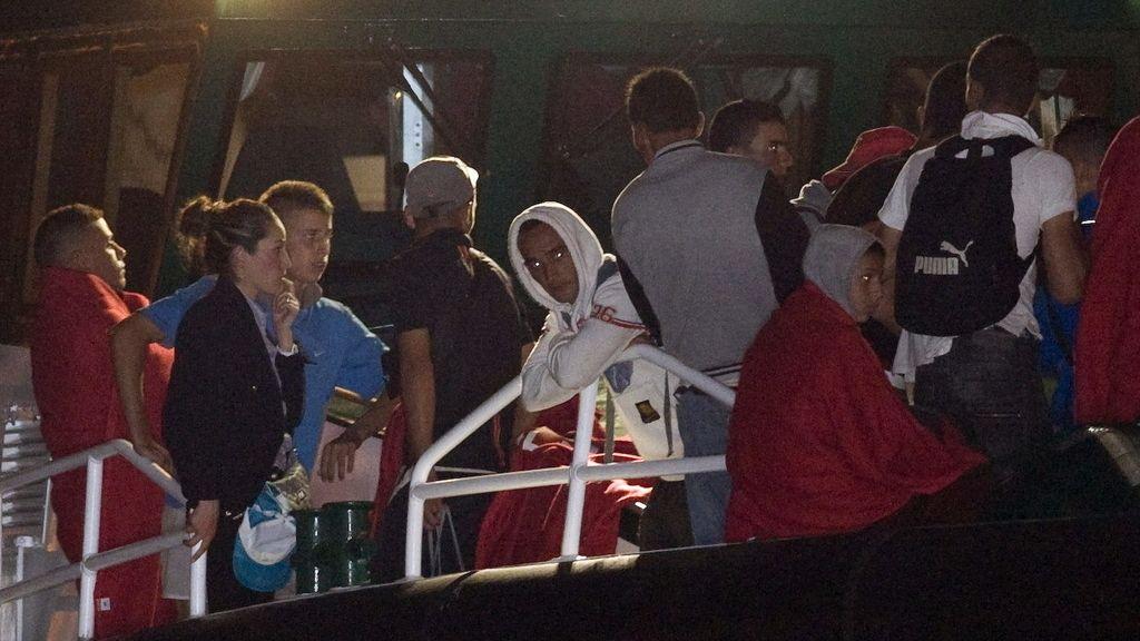 Rescatados 22 inmigrantes en aguas de Almería