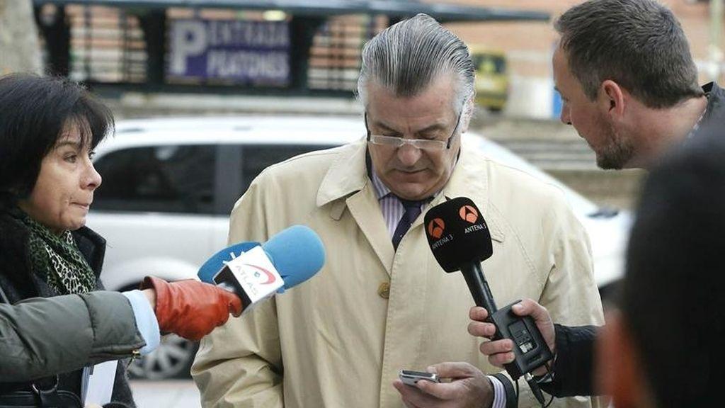 Luis Bárcenas vuelve a los juzgados de Plaza de Castilla