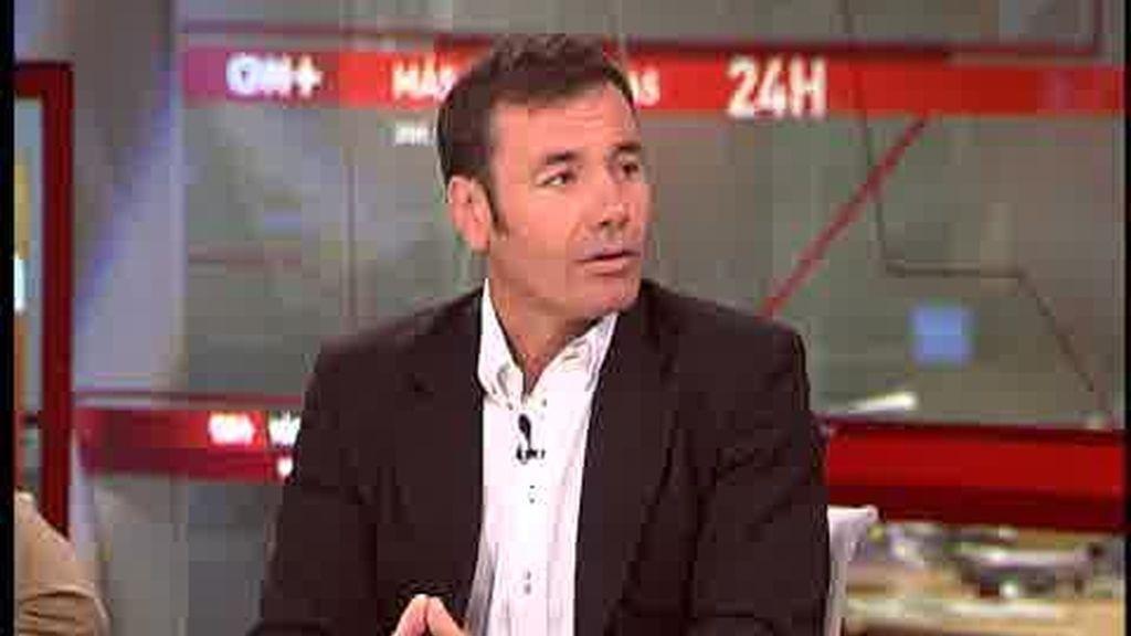 Tomás Gómez resta importancia a las encuestas del PSOE