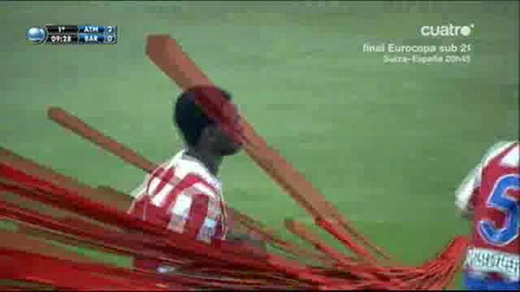 Salomon Obama hizo el segundo al Barça