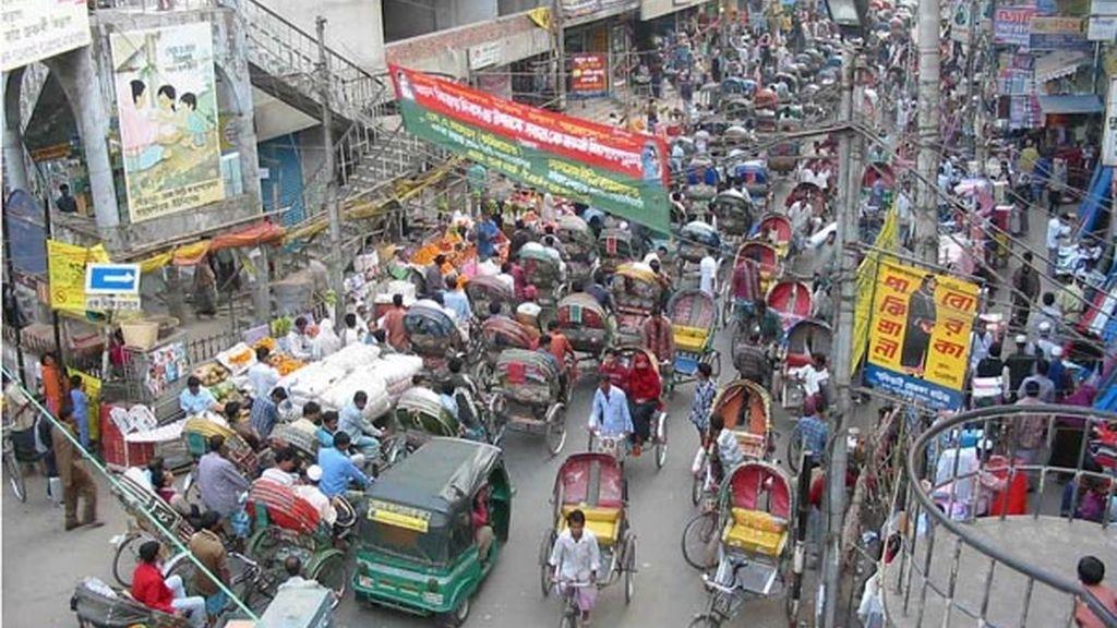 9. Dhaka (Bangladesh) 13.485.000 habitantes