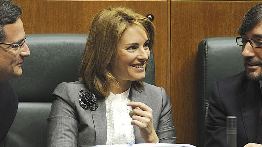 Arantza Quiroga, presidenta del Parlamento vasco
