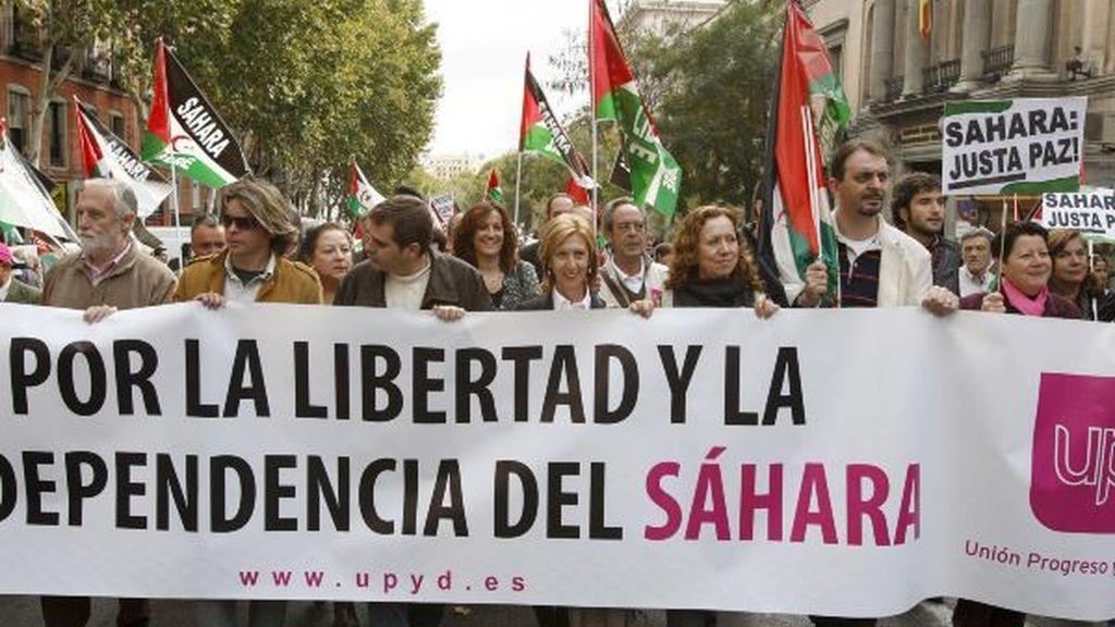 Marcha por el pueblo Saharaui