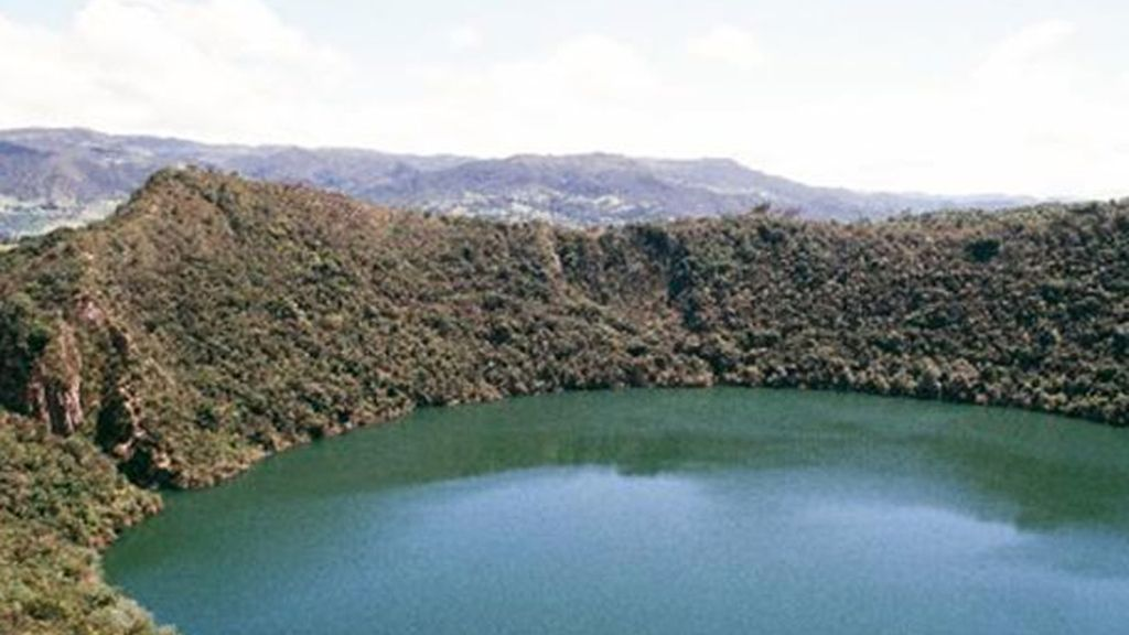 Laguna de Guatavita (Colombia). La leyenda de 'El Dorado'