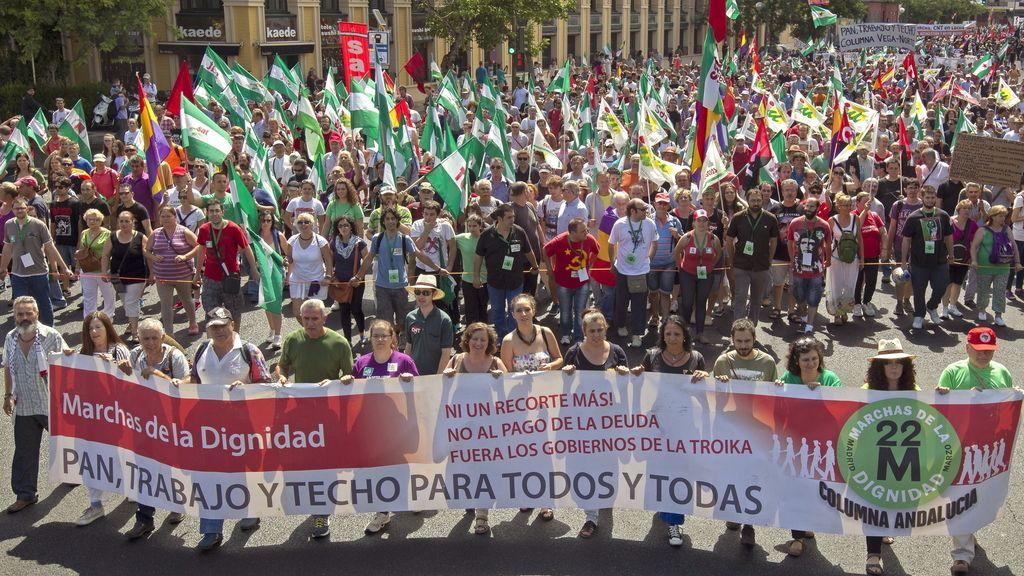 Marcha de la Dignidad en Sevilla