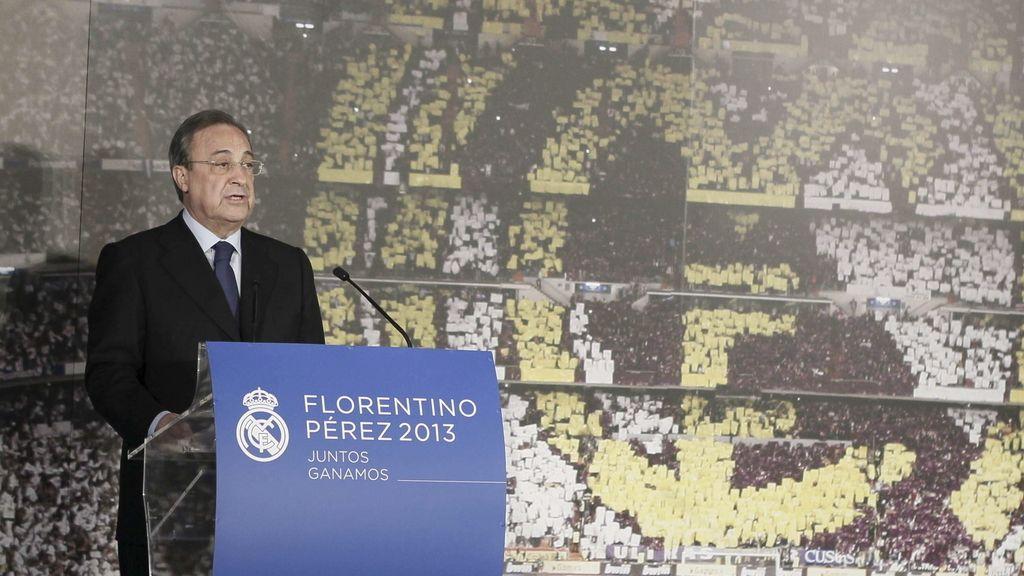 Florentino Pérez, presidente del Real Madrid hasta 2017