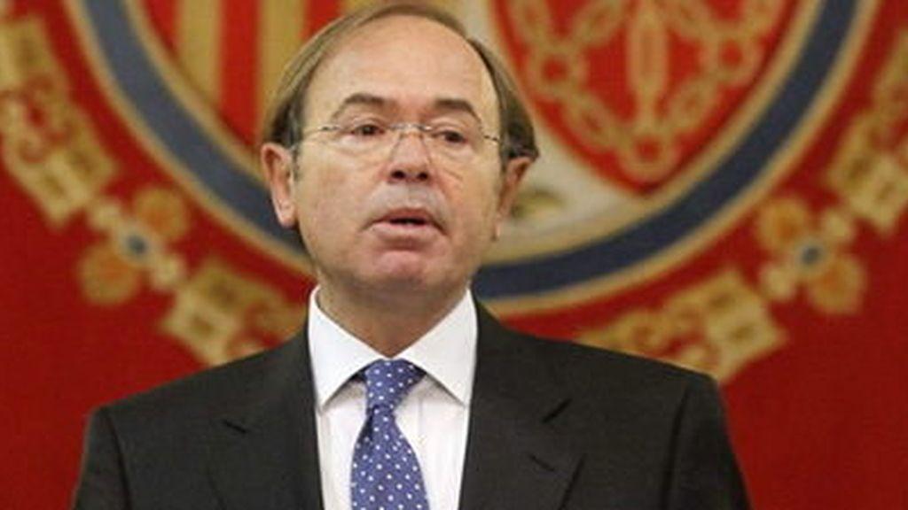 Pío García Escudero en una image de archivo