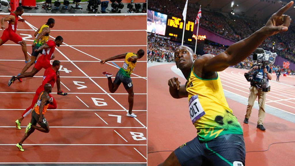 Usain Bolt, oro en 100 metros lisos