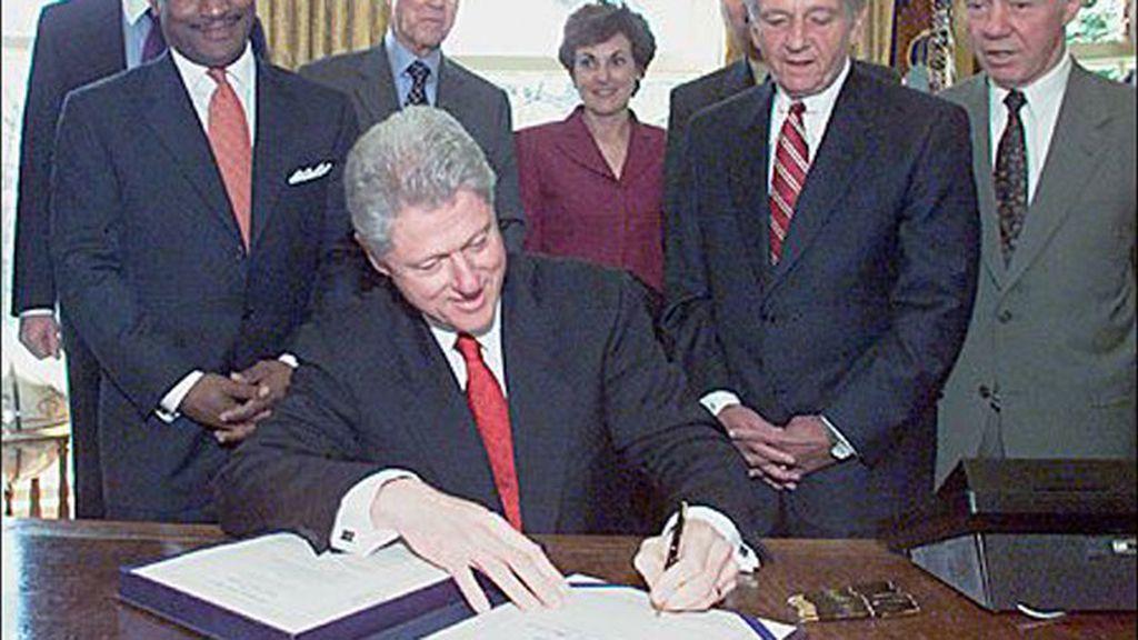 Bill Clinton, el ala zurda de la Casa Blanca
