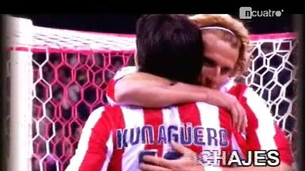 Forlán y Agüero se quedan en el Atlético de Madrid