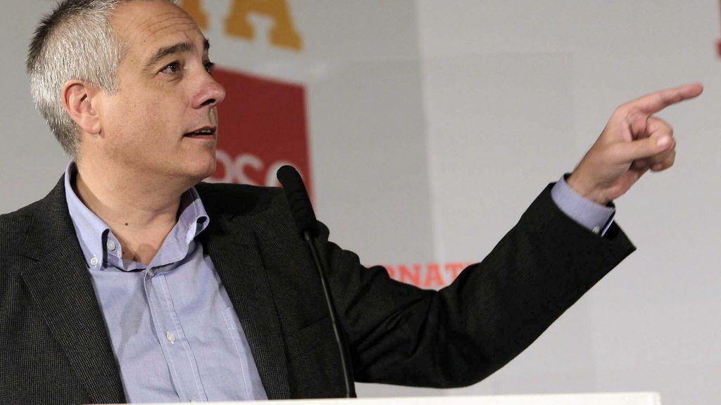El líder del PSC, Pere Navarro. Foto: EFE