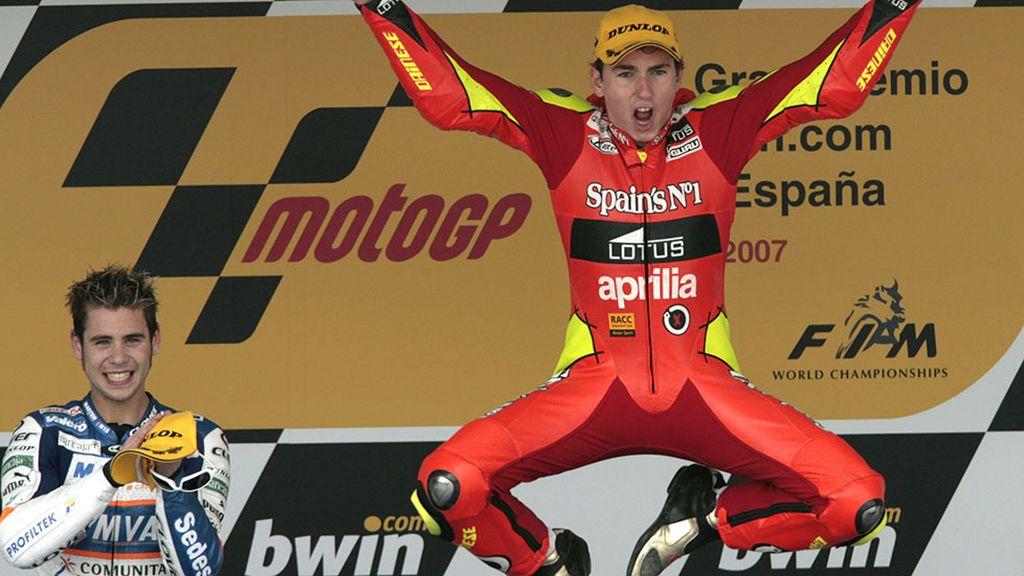 ¿Repetimos? En el 2007 Lorenzo volvió a ser campeón del mundo de 250 cc