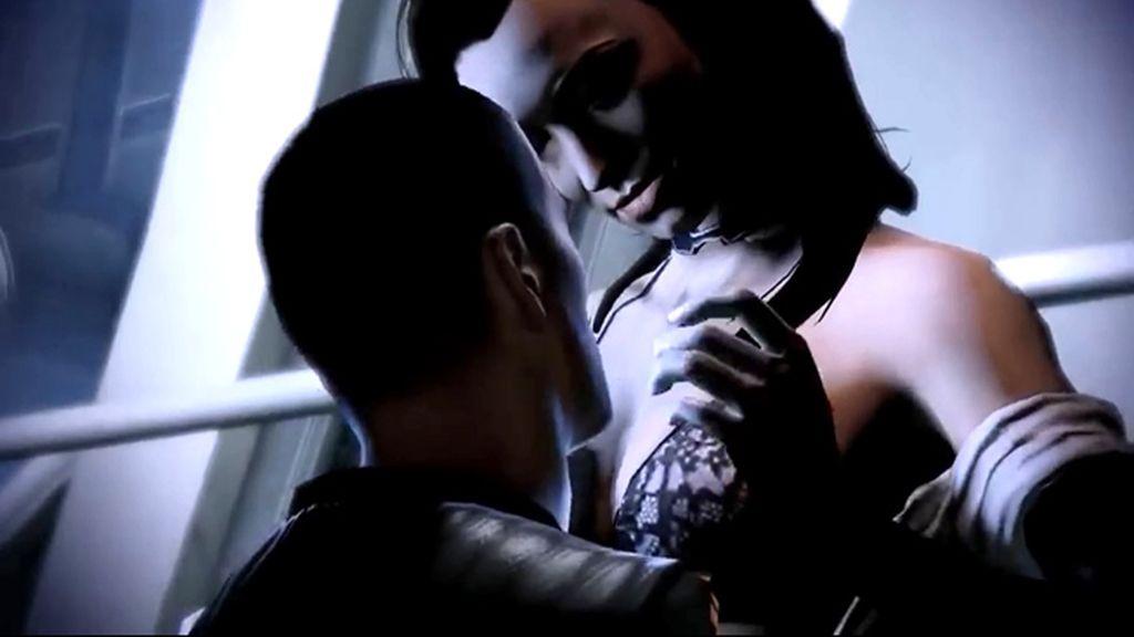 Miranda Lawson y Shepard (Mass Effect 2)