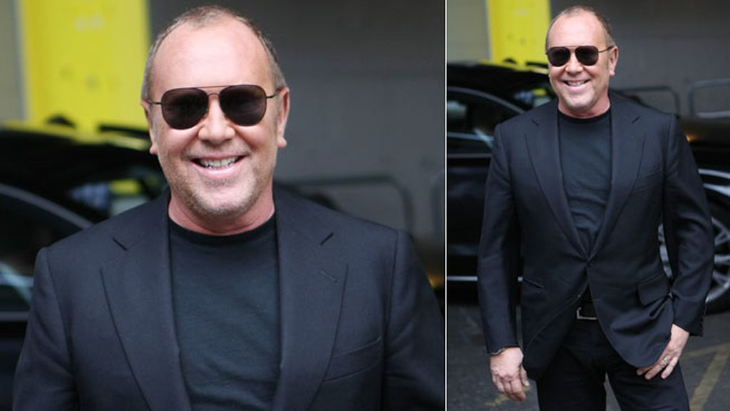 Michael Kors recurrió al clásico 'total black'