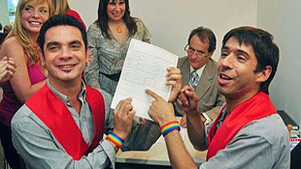 La pareja afirma que seguirá adelante a pesar de la sentencia. Foto: EFE