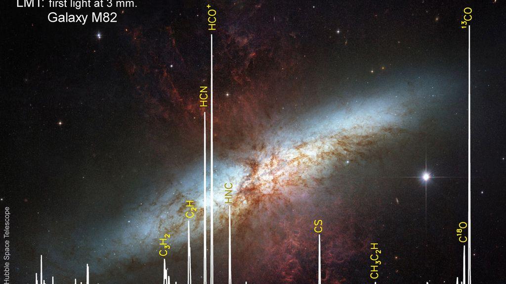 La nueva supernova SN2014J solo puede verse con telescopios