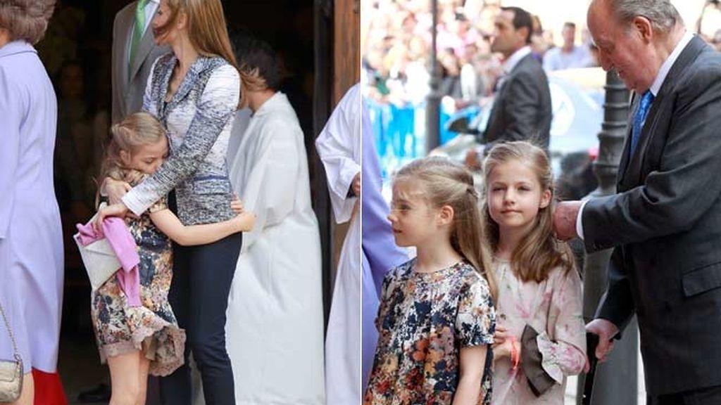 La infanta Sofía cumple siete años