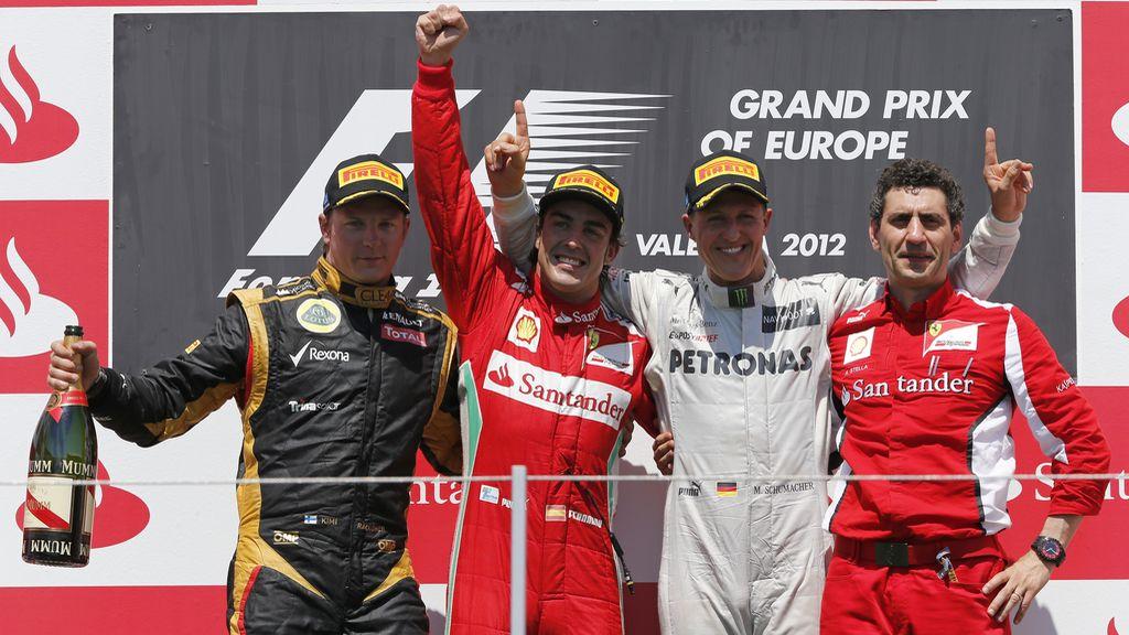 Alonso gana el Gran Premio de Europa
