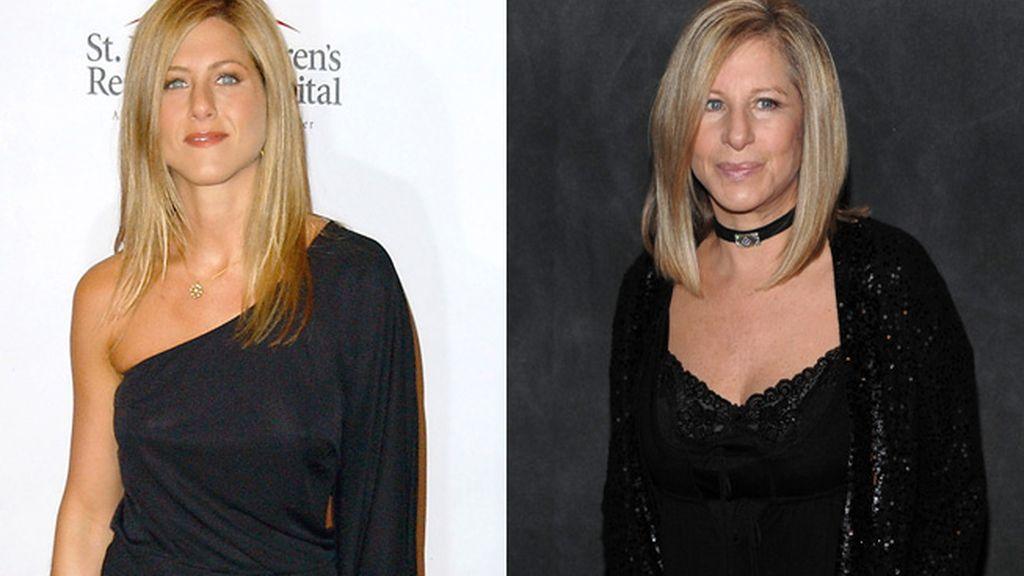 Jennifer Aniston y Barbra Streisand