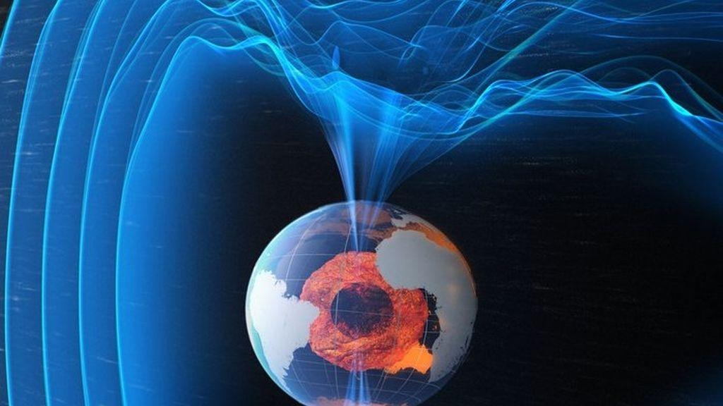 Confirman grietas en el campo magnético de la Tierra