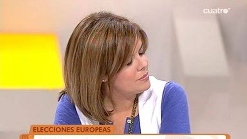 Soraya Sáenz de Santamaría en Las Mañanas de Cuatro