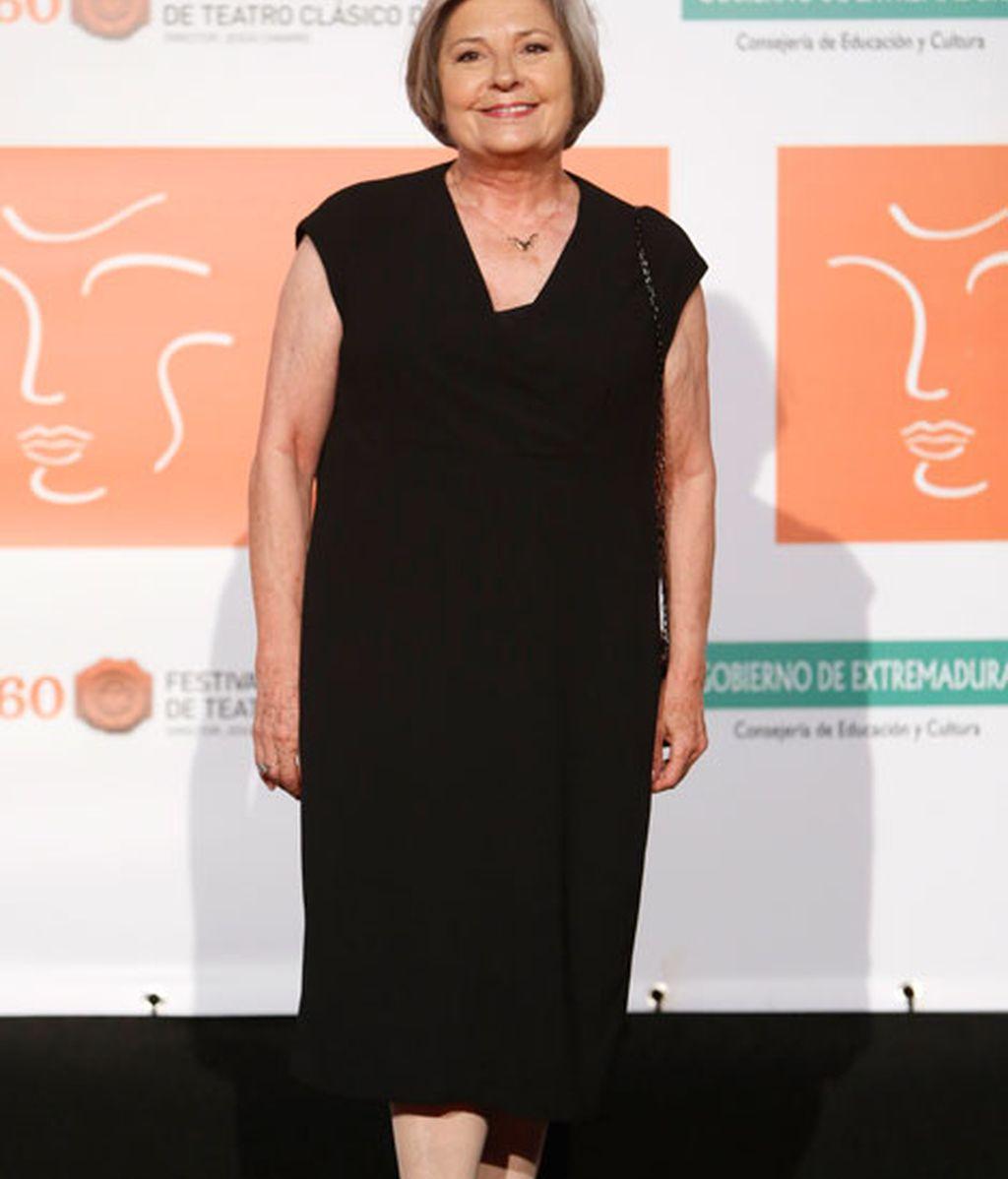 Tina Sainz con el teatro español