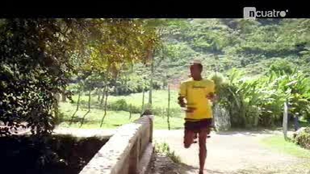 Un día de entrenamiento con Usain Bolt