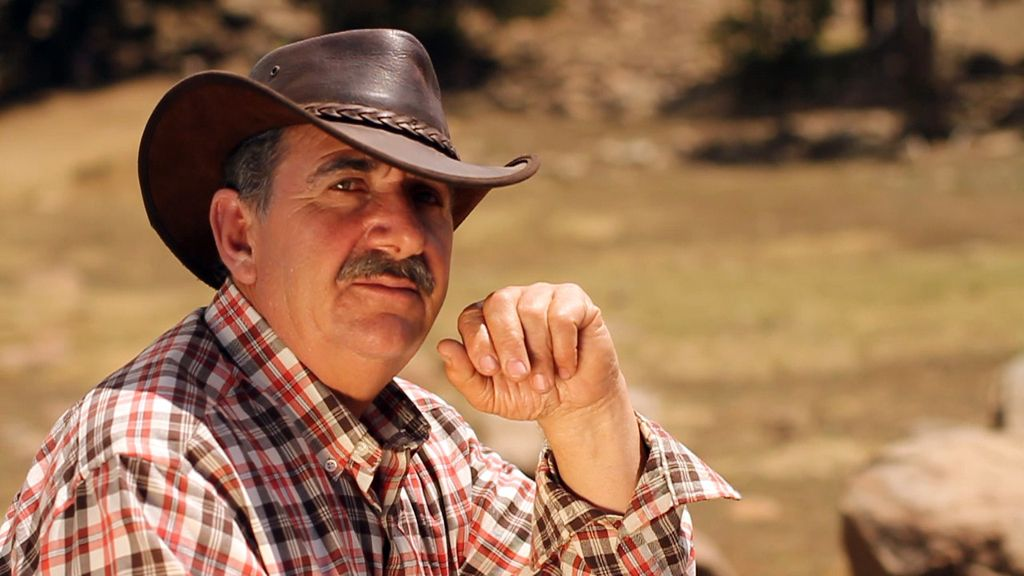Rafael González. capataz de 'Padres lejanos'