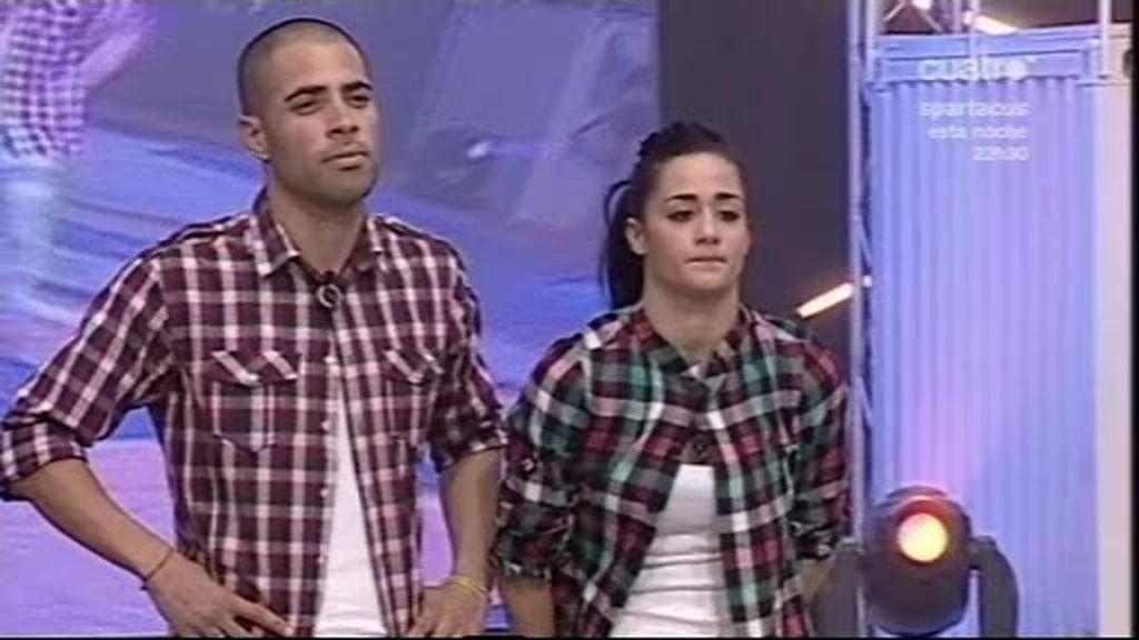 Airam y Aroa, también pareja de baile